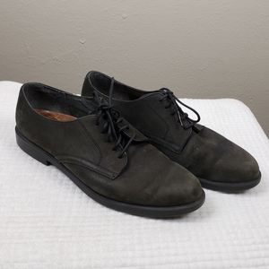 Rockport Mens Gray Green Suede Shoes Size 10.5